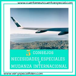 5 Consejos Necesidades Especiales y Mudanza Internacional