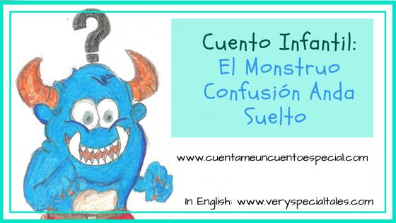 Cuentos Infantiles Monstruo Confusión