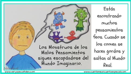 Cuentos Infantiles Monstruos se escapan