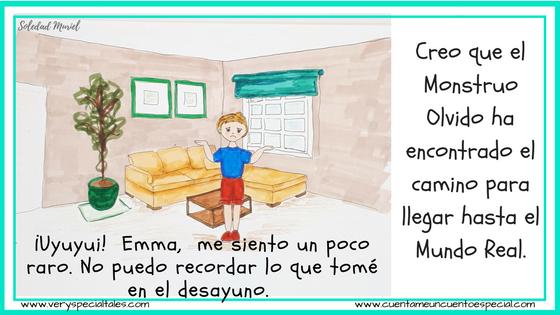 Cuentos Infantiles Monstruos Victor Olvida