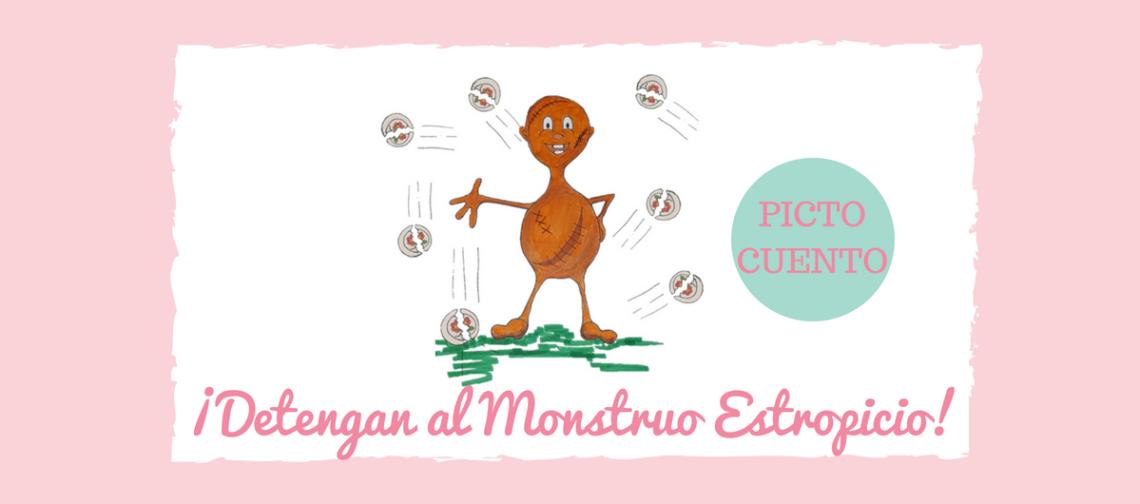 Cuento Pictografico Monstruo Estropicio banner