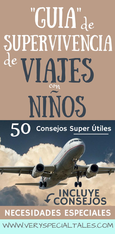 Guia de Superviviencia para Viajar con Niños en Avión