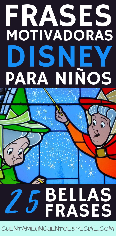 Frases Disney para Motivar a los Niños