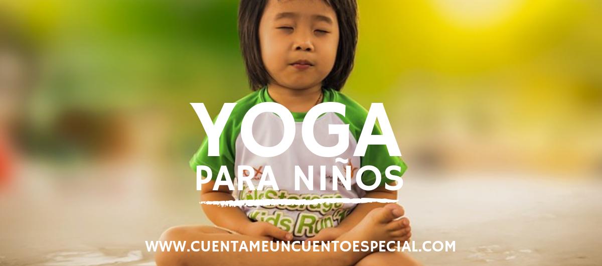 beneficios del yoga para niños banner