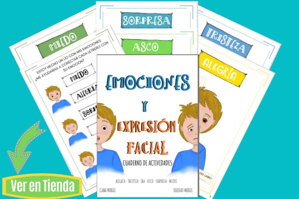 Cuaderno de las Emociones para Niños_Reconocimiento Facial