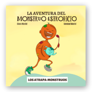 portada del libro la aventura del monstruo estropicio