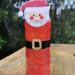 Botella Sensorial de Santa Claus